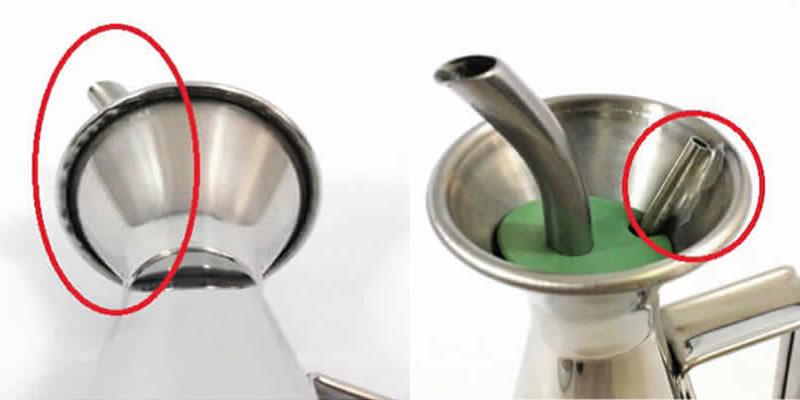 ギマランイスイホーザ Guimaraes & Rosa オリーブオイル専用ボトル  (オリーブオイルポット/オイルボトル)  (オイルが漏れないオイル容器)
