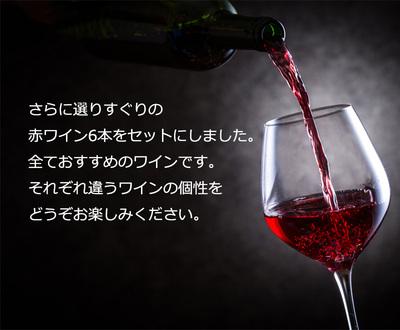 第65弾!【送料無料】赤ワイン6本セット!※クール便は、+220円