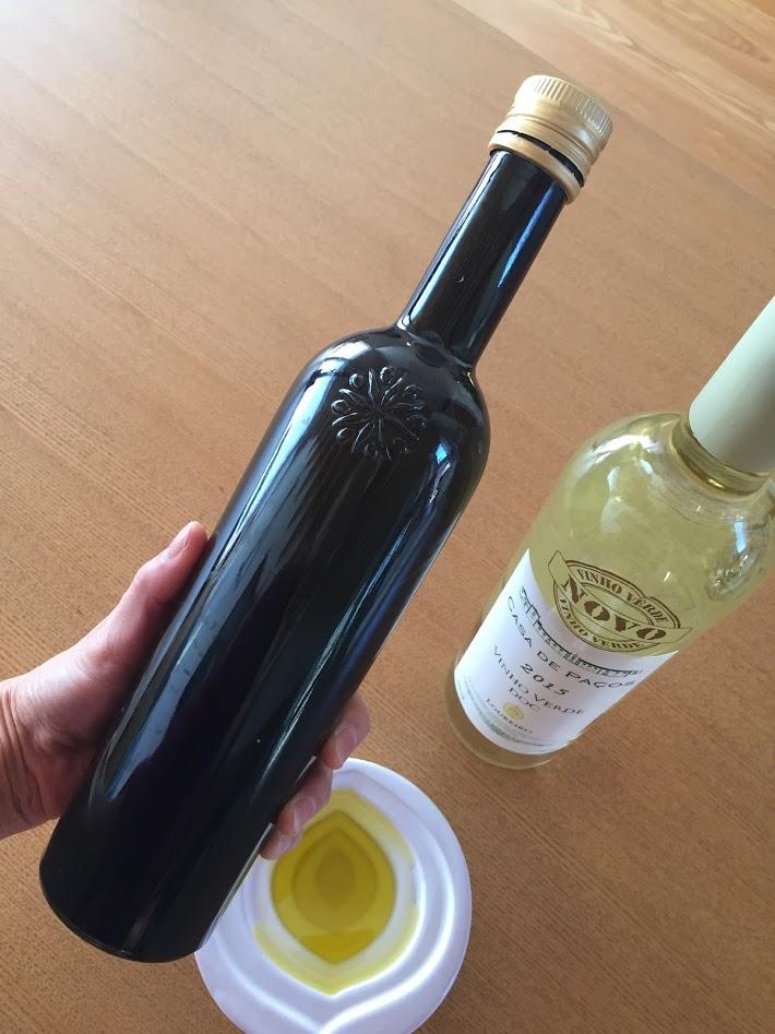 ダブルヌーヴォー、オリーブオイルとワイン