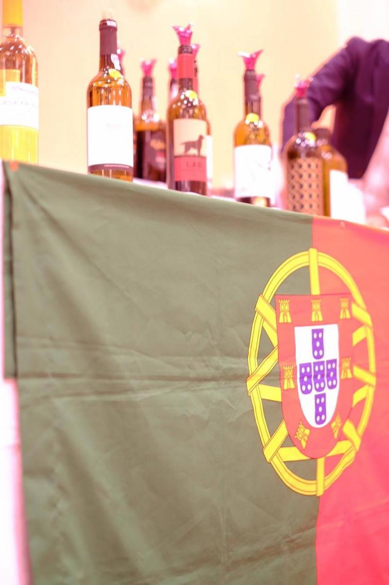 ポルトガル国旗でアピール
