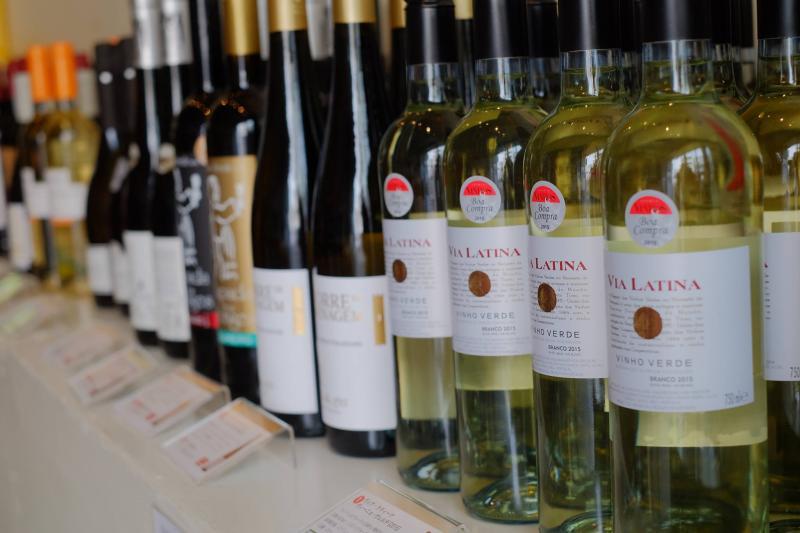 ヴィーニョヴェルデを中心とした白ワインたち
