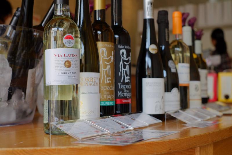 試飲コーナー:白ワイン