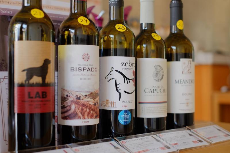 試飲コーナー:赤ワイン