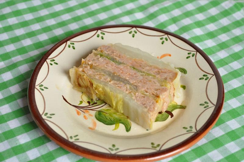 白菜のミルフィーユ