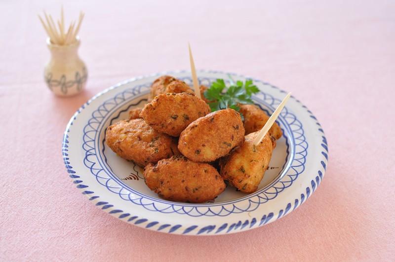 鱈の缶詰コロッケ