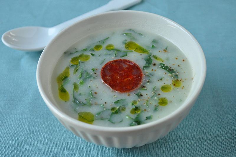 カルド・ヴェルデ ~ジャガイモのスープ~