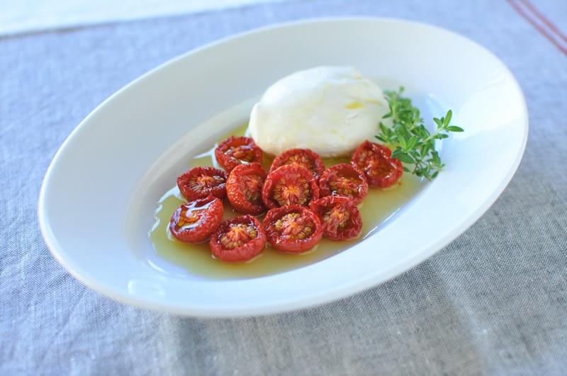 簡単にできてかわいい保存食、セミドライトマト