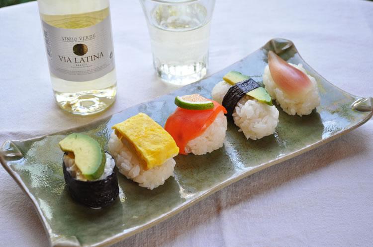 カラフルおちょぼ寿司