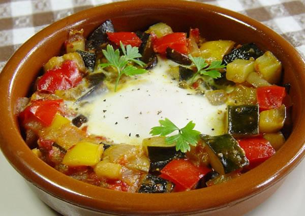 夏野菜たっぷり。焼きラタトゥイユ