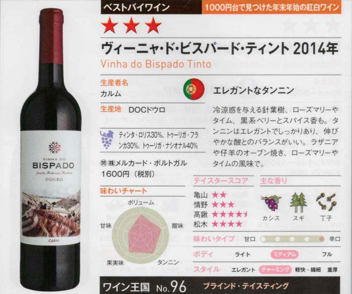 1000円台で見つけた年末年始の紅白ワイン(ワイン王国2017年1月号)
