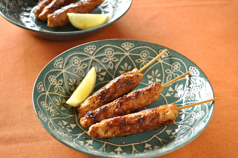 """串焼き肉""""モルノ""""をポルトガルスタイルで"""