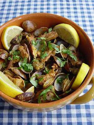 アレンテージョ風豚とアサリ炒め