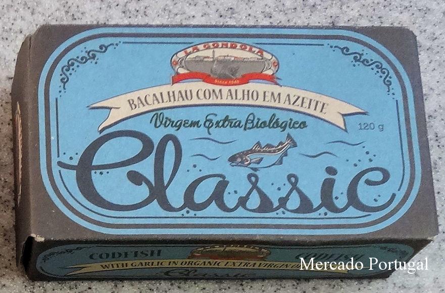 La Gondola社のタラ缶。パッケージもクラシカルでお洒落。