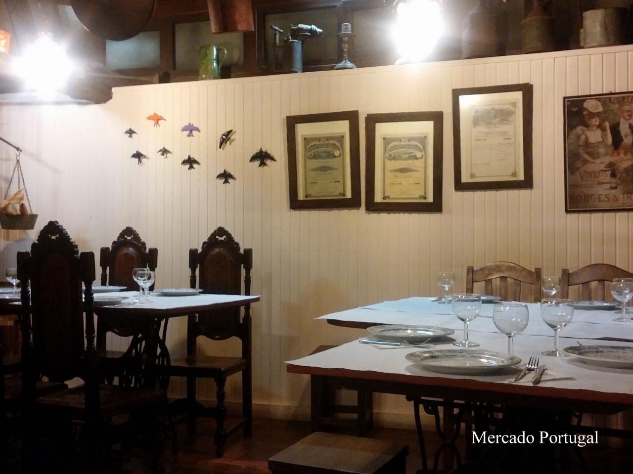 ポルトガル料理が楽しめて落ち着いた雰囲気も素敵です。