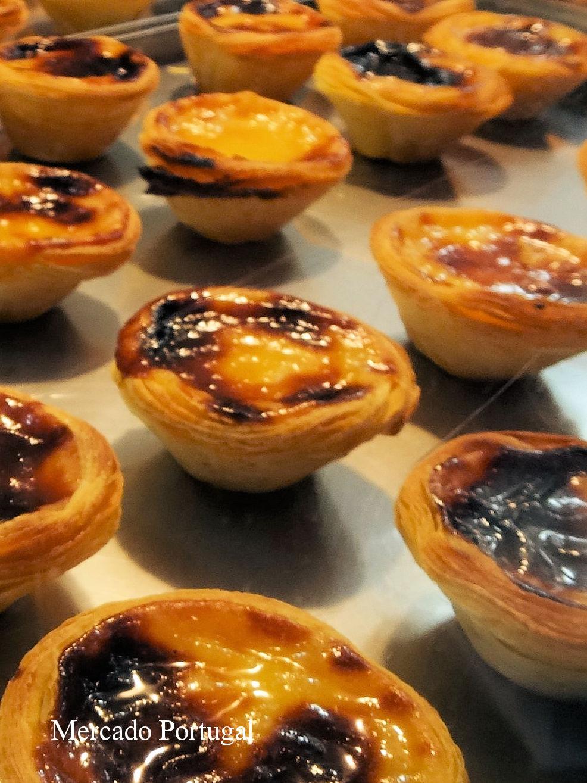 ポルトガル菓子と言えばエッグタルト(パステル・デ・ナタ)