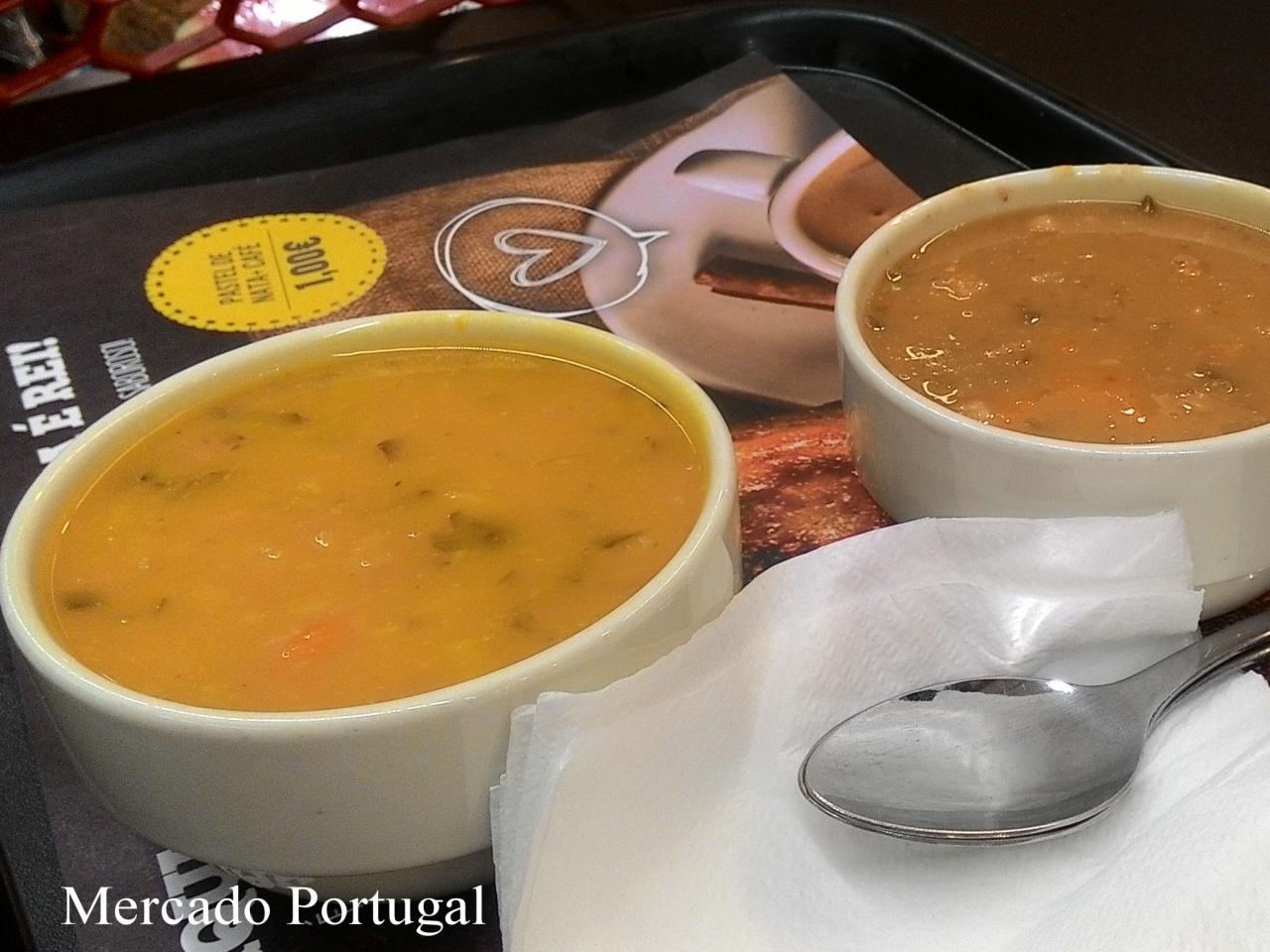 このようなピューレ状のスープが一般的。