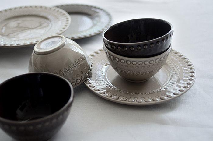 普段使いにおすすめの、ポルトガル陶器「ボルダロ・ピニェイロ」のファンタジーライン(3日間展示販売)