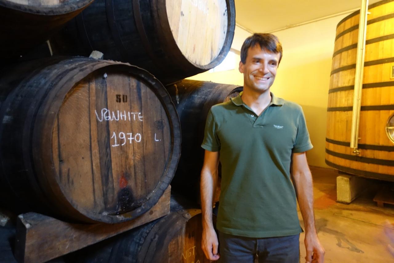 ポートワインとドウロワインの生産者オスカーケヴェドさん(土曜日のみ)