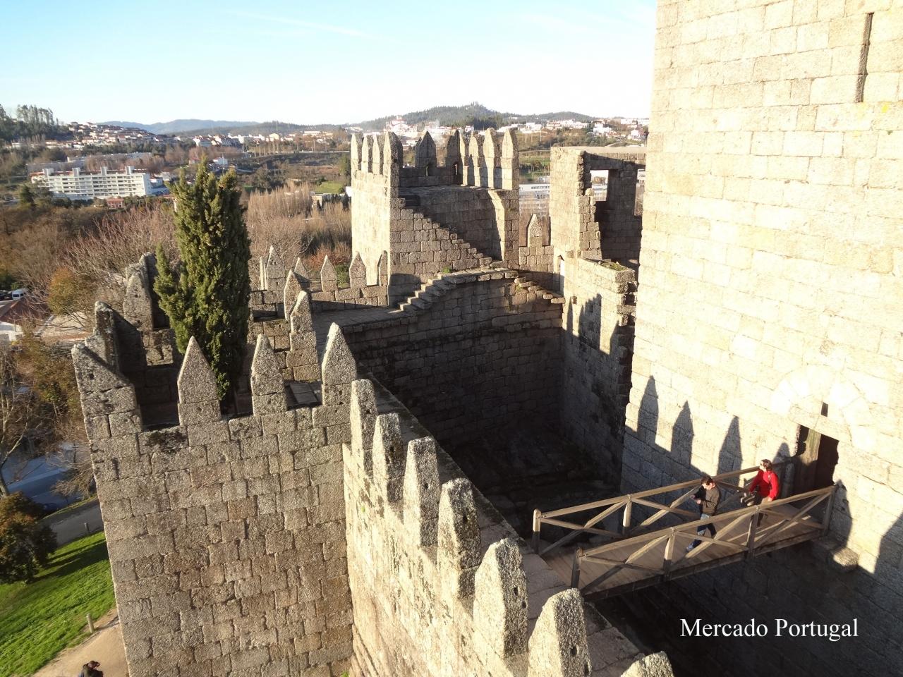城の中から町を眺めるのも楽しいです
