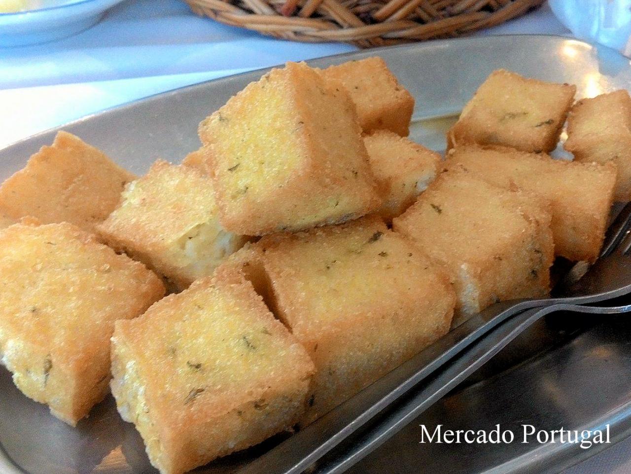 コーンミールのフリット(Milho frito)