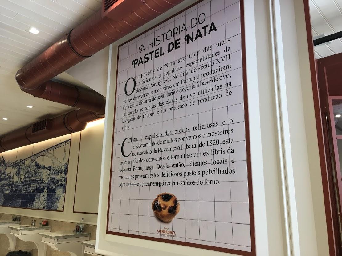 この店の中にナタの歴史が書かれていました。