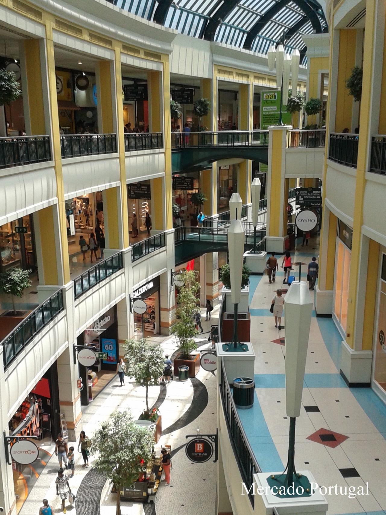 リスボンのコロンボショッピングセンター
