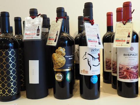 赤ワインは5種類。気軽なものからスペシャルなものまでお値段相応のライナップにしました。