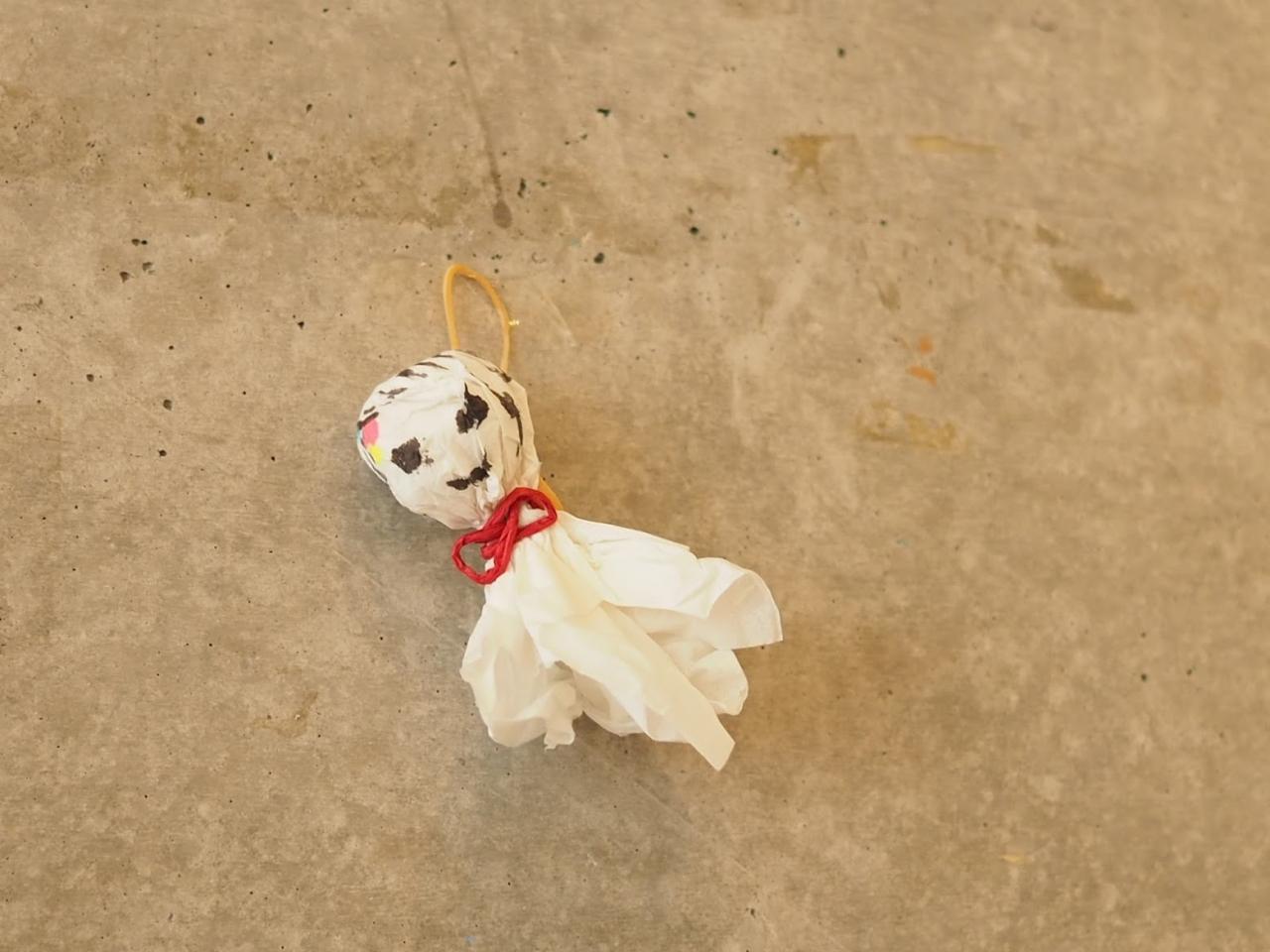 最終日の晴天は、小さなお友達のAちゃんが作ってくれたこのテルテル坊主さんのおかげ。心から感謝!