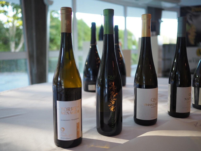 醸造家が「メルガッソがボトルに詰まっている」と表現するアルヴァリーニョのワインたち