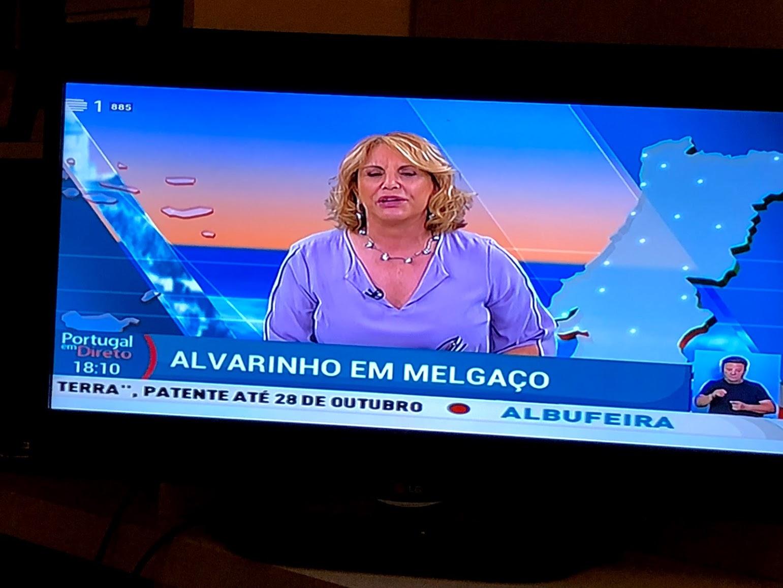 数日後テレビのニュース番組、メルガッソのアルヴァリーニョ特集に