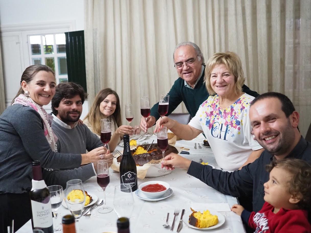 いつでも家族総出で歓待してくれるヴィーニョス・ノルテのヴェラ一家